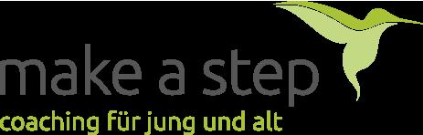 make a step Logo